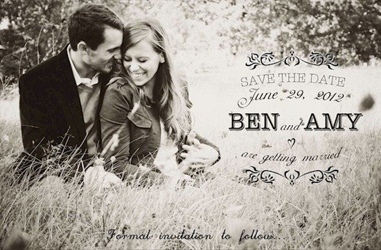 save the date ben and amy