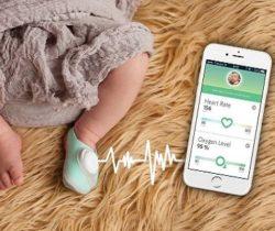 smart sock baby monitor
