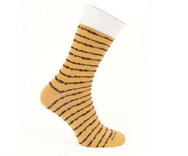 sushi socks yellow