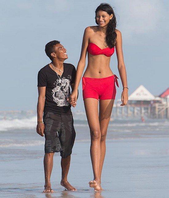 tall girl short guy