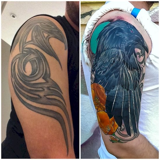 16 Tattoo Cover-Ups That Are Hiding Some Seriously Bad Ink