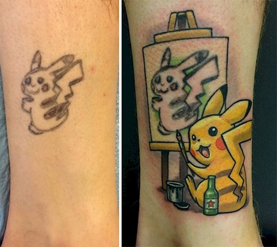 tattoo-cover-up-pikachu