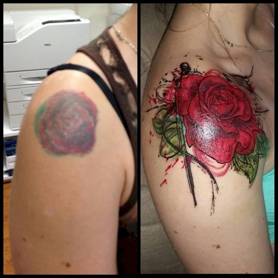 tattoo-cover-up-rose