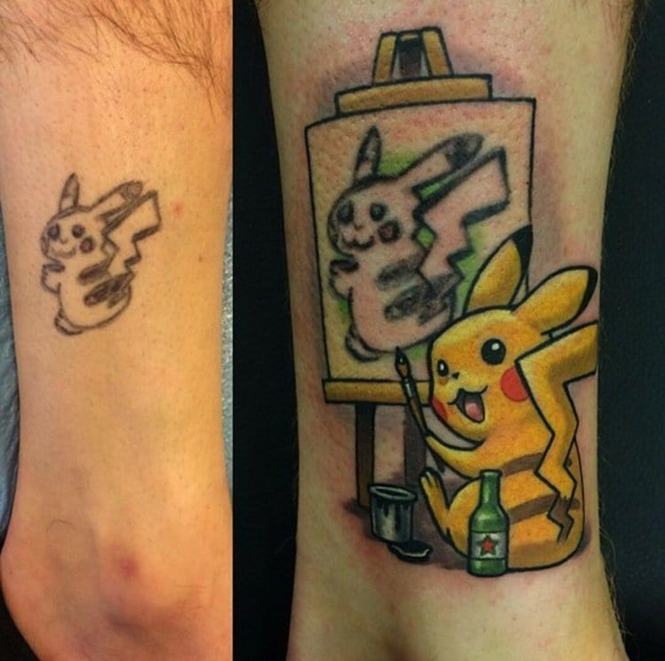 Betteridea: 16 Bad Tattoos That Were Covered Up Amazingly Well