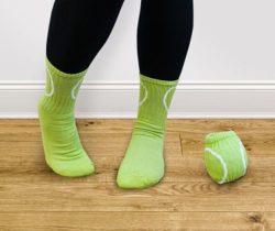 tennis ball socks