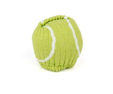 tennis ball socks green