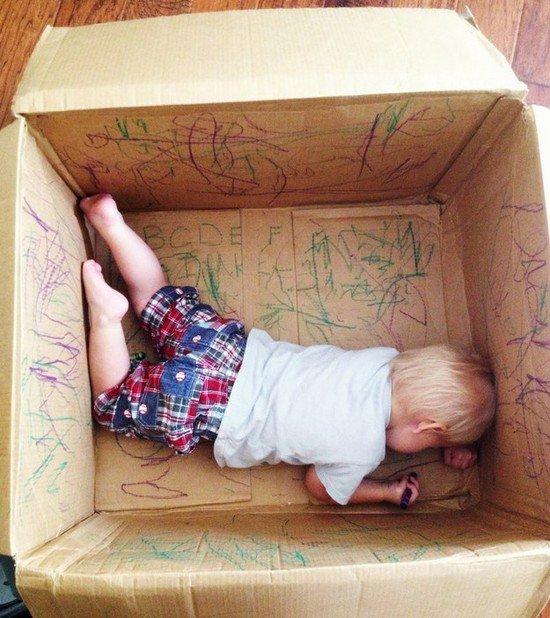 toddler scribble box