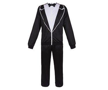 tuxedo tracksuit