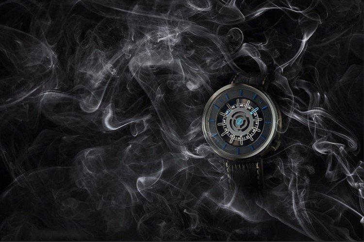watch in smoke
