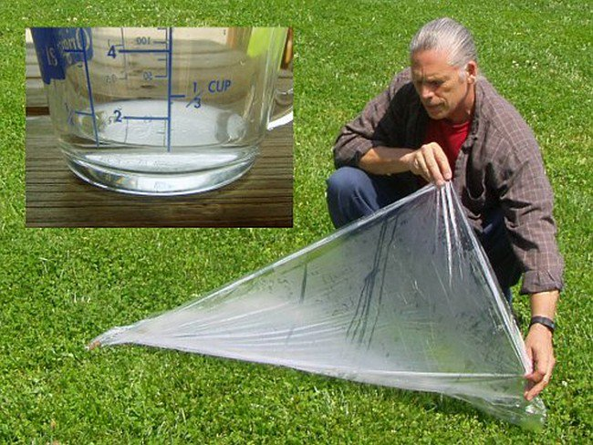 water plastic sheet