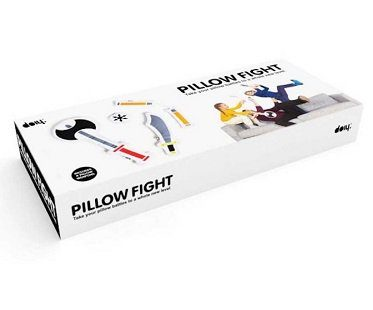 weapon cushions pillow fight box