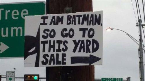 yard-sale-signs-batman