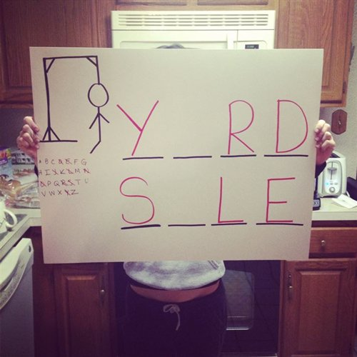 yard-sale-signs-hangman