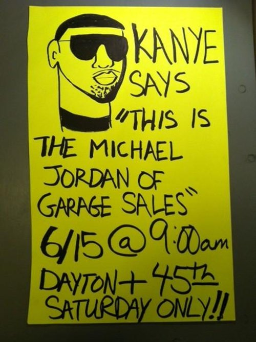 15 awesome yard sale signs to make you want to buy people