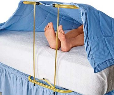 Adjustable Blanket Support gold