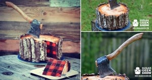 Artisan Cake Company Lumberjack Cake