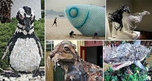Artworks Made From Trash