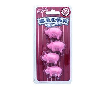 Bacon Scented Erasers pack