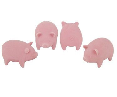 Bacon Scented Erasers rubbers