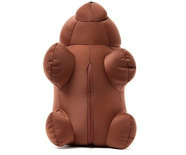 Bear Zip and Flip Travel Pillow zip