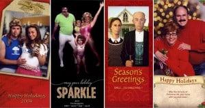 Bergeron Family Christmas Card Photos