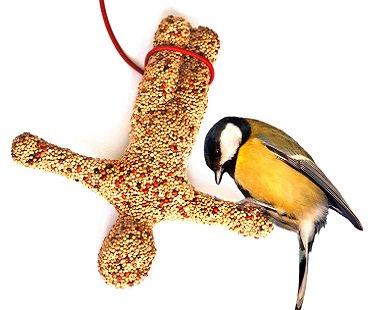 Bungee Jumper Bird Feeder seeds