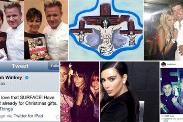 Celebrities Failed Social Media