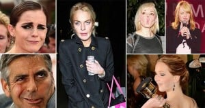 Celebrities Funny Faces