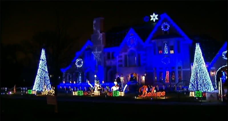 Christmas Light Show Support Wounded