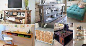DIY Wooden Furniture Ideas