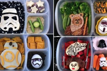 Dad Star Wars Themed Lunches