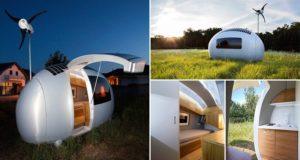 Ecocapsules Sustainable Micro-Homes Future