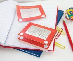 Etch-A-Sketch Sticky Notes