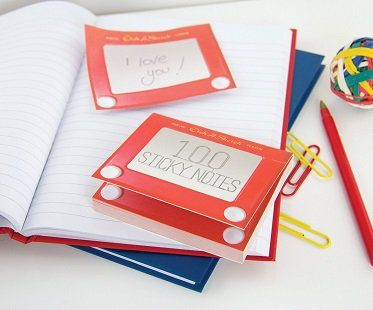 Etch-A-Sketch Sticky Notes
