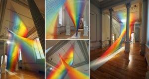 Gabriel Dawe Rainbow Sculpture Everyday Material