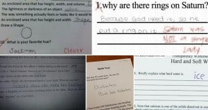 Hilarious Student Test Answers