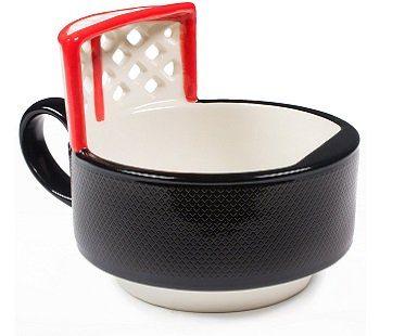 Hockey Puck Mug black