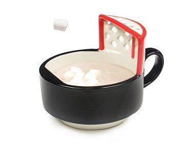 Hockey Puck Mug hot chocolate