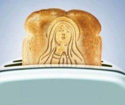 Holy Mother Toast Stamper