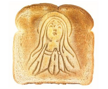 Holy Mother Toast Stamper bread