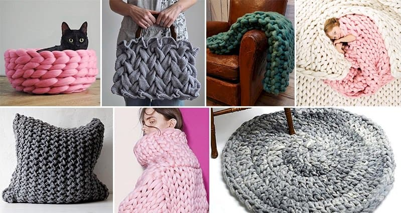 Knitting Ideas For The Home : Awesome knitting projects for you to try at home