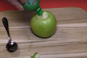 How To Make A Candle Out Of An Apple