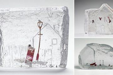 Jenny Ayrton Miniature Wonderlands Molten Glass Art