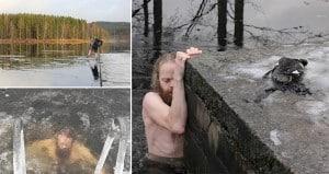 Lars Jorun Langoien Saves Duck