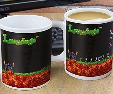 Lemmings Heat Changing Mug