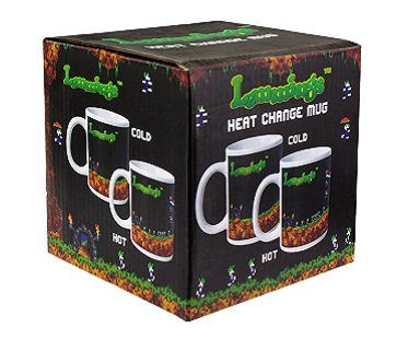 Lemmings Heat Changing Mug box
