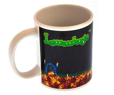 Lemmings Heat Changing Mug drink