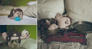 Melinda Egyed Monkey Newborn Poses