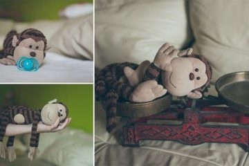 Melinda Egyed Monkey Newborn Poses