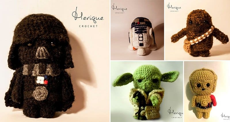 Merique Crochet Star Wars